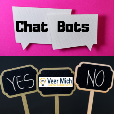 welcome to Veer Mich Digital consultants ChatBots
