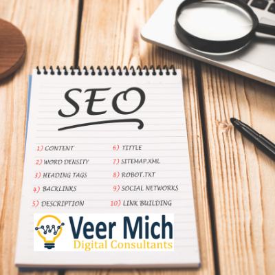 welcome to Veer Mich Digital consultants SEO